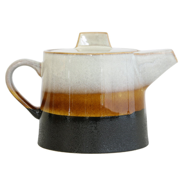 70's Ceramic Tea Pot - Elements