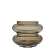 HK Living | Smoke Brown Glass Vase - Small | House of Orange Melbourne