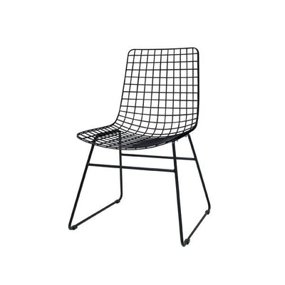 HK Living | Metal Wire Chair Black | House of Orange Melbourne