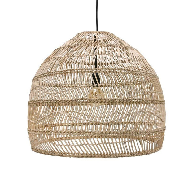 HK Living | Wicker hanging lamp medium round natural | House of Orange Melbourne