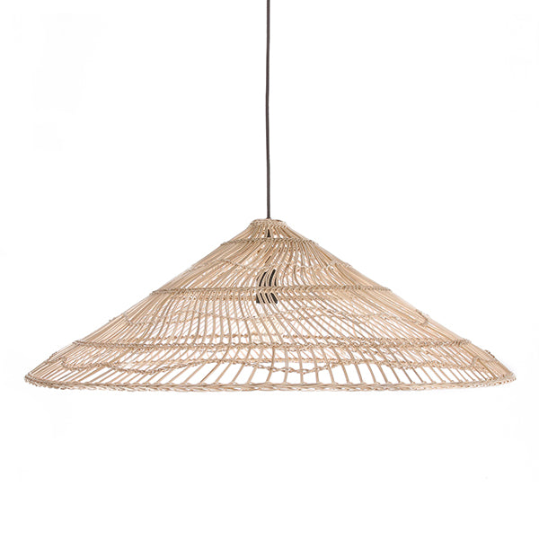 HK Living | Wicker Hanging  Lamp Triangle Natural L | House of Orange Melbourne