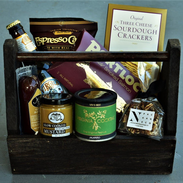 Nifty Package Co. Gourmet Gifts: Salty and Sweet Crate