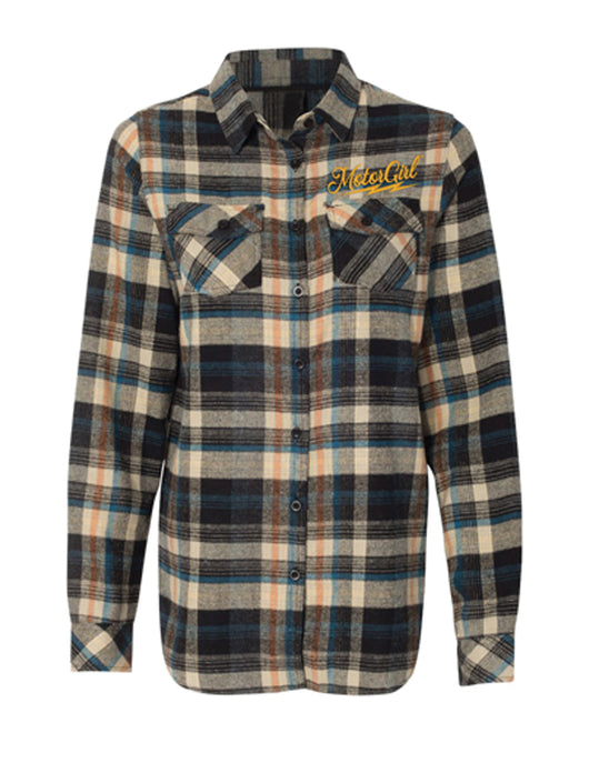 MOTORGIRL KUSTOMS - RIVER FLANNEL - MotorCult