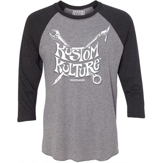 TOOLS OF THE TRADE - 3/4 SLEEVE RAGLAN - KUSTOM KULTURE - MotorCult