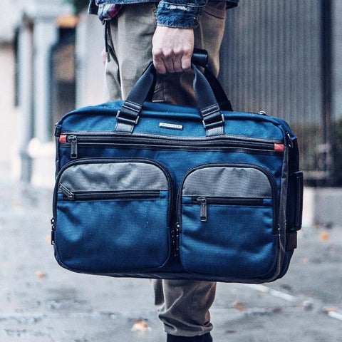PACIFIC CARRYALL BACKPACK - BALLISTIC NYLON NAVY