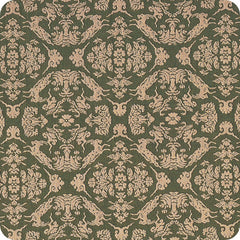 120 Shosoin Cotton Jacquard | Goat Green