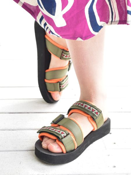 Geometric Tape Sports Mix Style Sandals