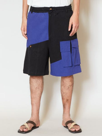 Bi-color 7 Pockets Shorts