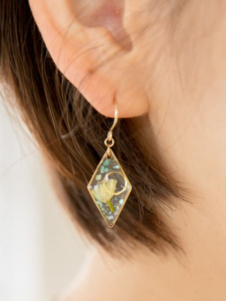Dried Flower Earrings