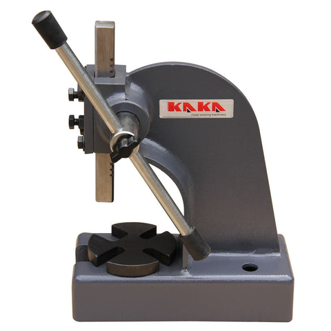 "Kaka Arbor Press, 1/2"" Ton Cast Iron Arbor Press, 3"" Height Arbor Press"