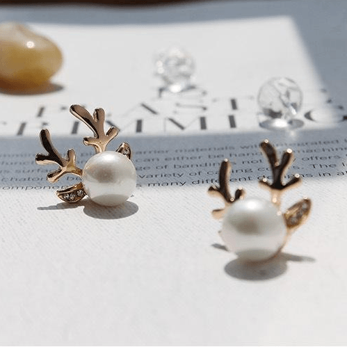 Antlers Earrings
