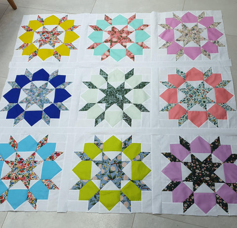 Wildwood & Tula Solids Swoon Quilt Kit