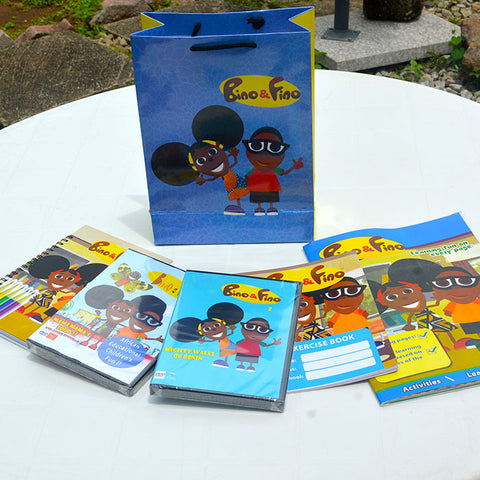 Bino and Fino Kids Educational Party Pack