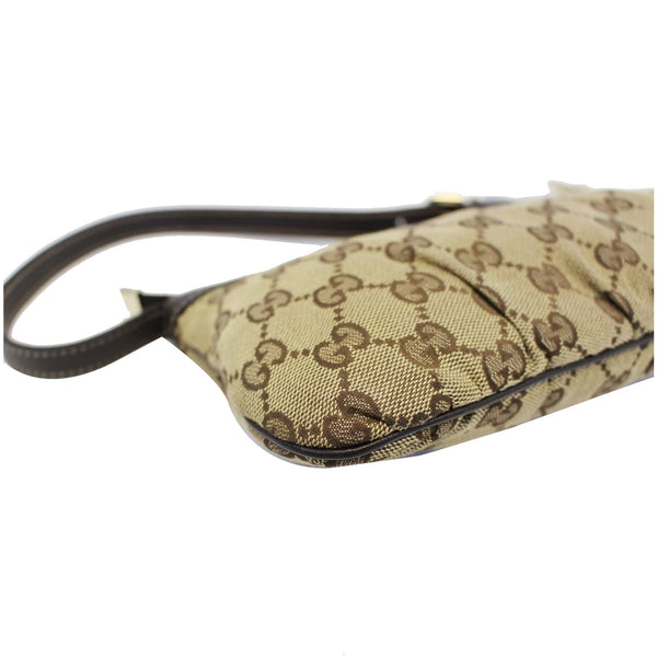 GUCCI Interlocking G Pochette GG Canvas Shoulder Bag Beige-US