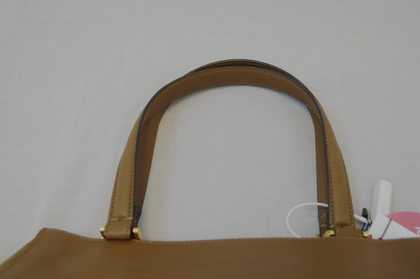 Fendi Pecan Canvas Leather - Fendi Shoulder Bag - authentic