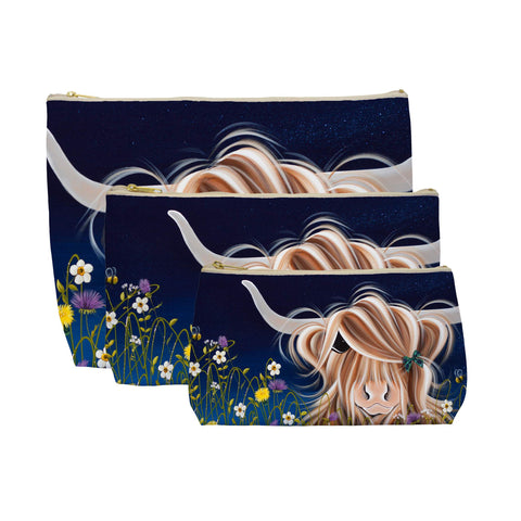Jennifer Hogwood, The McMoos, Evening Highland - Makeup / Wash Bags