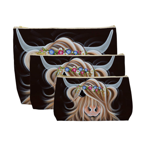 Jennifer Hogwood, The McMoos, Flora - Makeup / Wash Bags