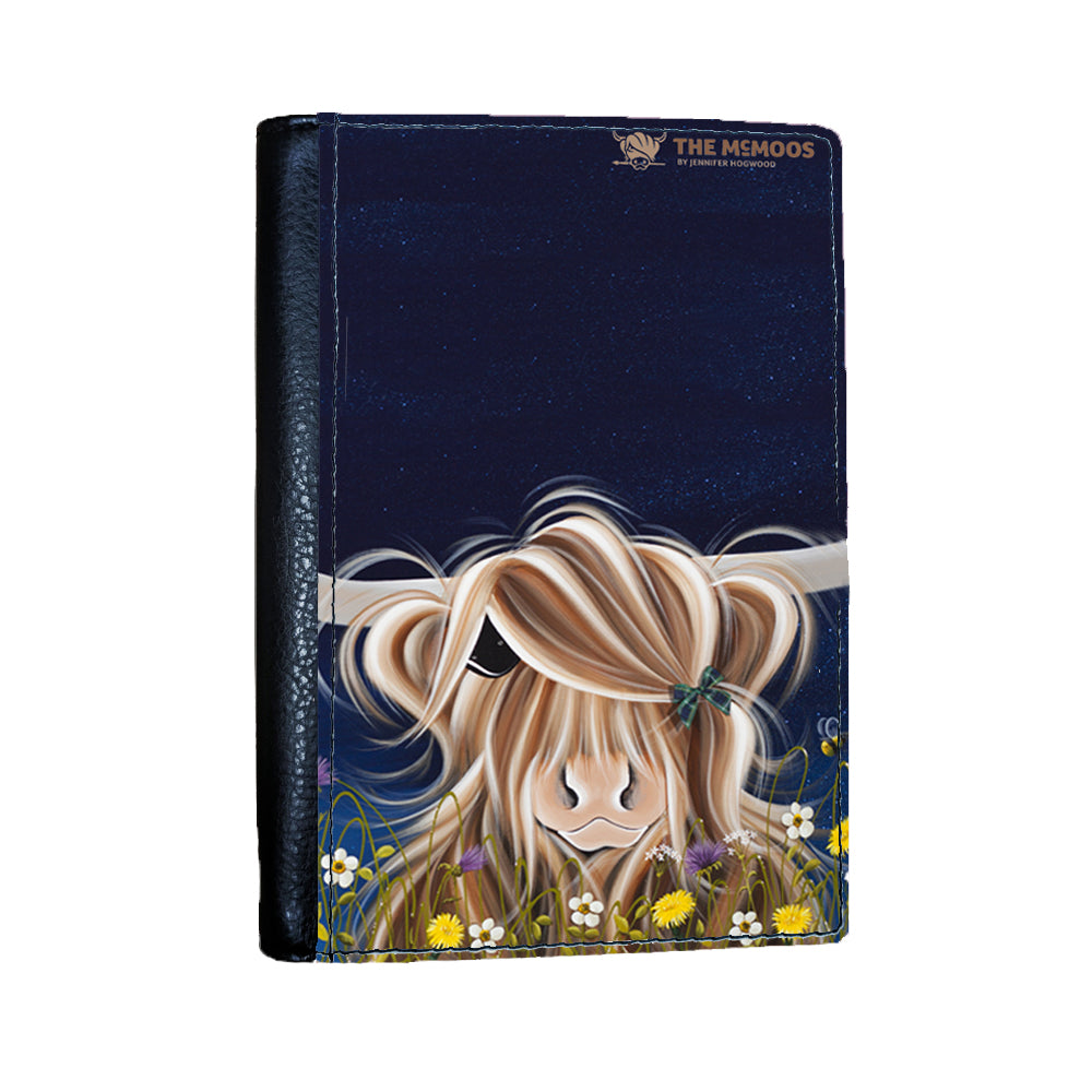 Jennifer Hogwood, The McMoos, Evening Highland - Passport Cover