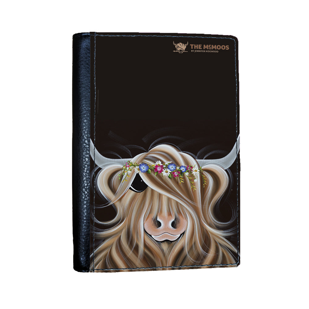 Jennifer Hogwood, The McMoos, Flora - Passport Cover