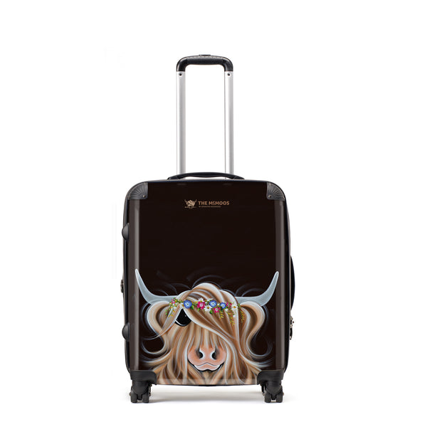 Jennifer Hogwood, The McMoos, Flora - Medium Suitcase