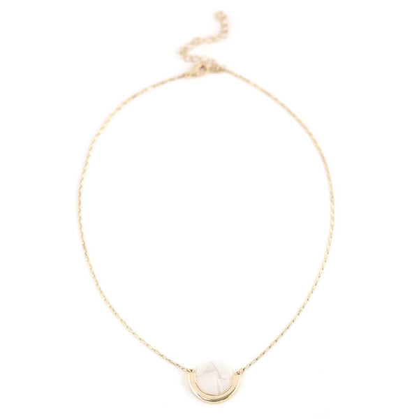 Collier Cosmos White