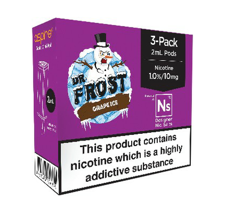 Ns20 Grape Ice Pods By Dr Frost