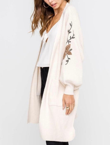 Ethereal Embroidered Cardi