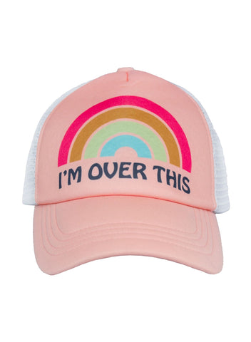 Child's I'm Over This Trucker Hat