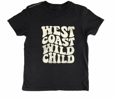 West Coast Wild Child Vintage Tee