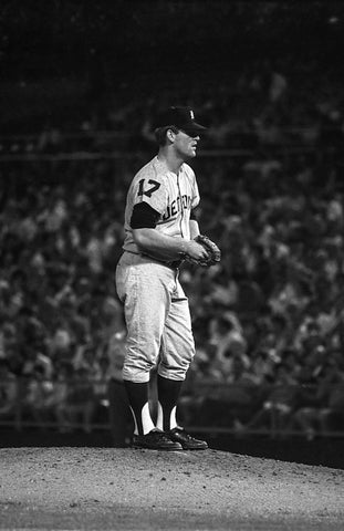 Denny McLain on the Mound