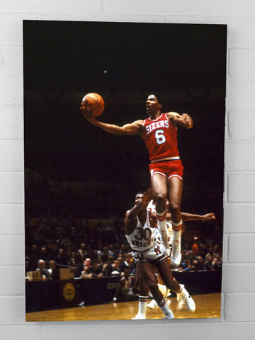 Dr J Flying Finger Roll - 24x36