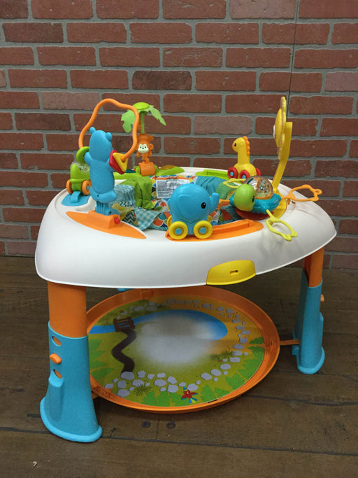 used Infantino Sit, Spin, And Stand Entertainer Seat And Activity Table