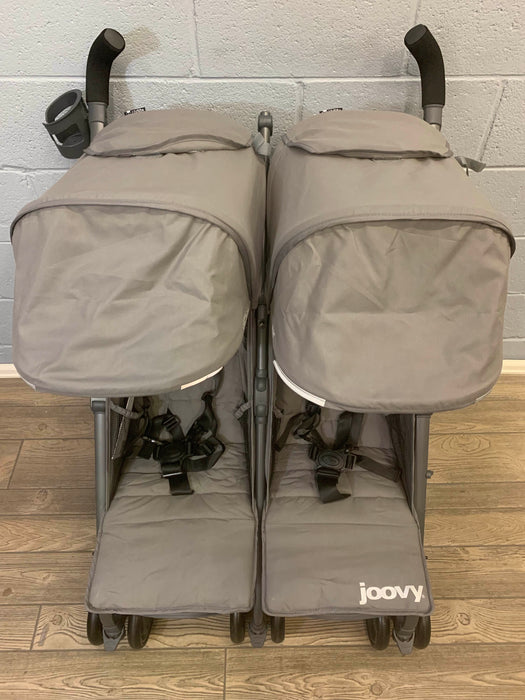 secondhand Joovy TwinGroove Ultralight Double Stroller