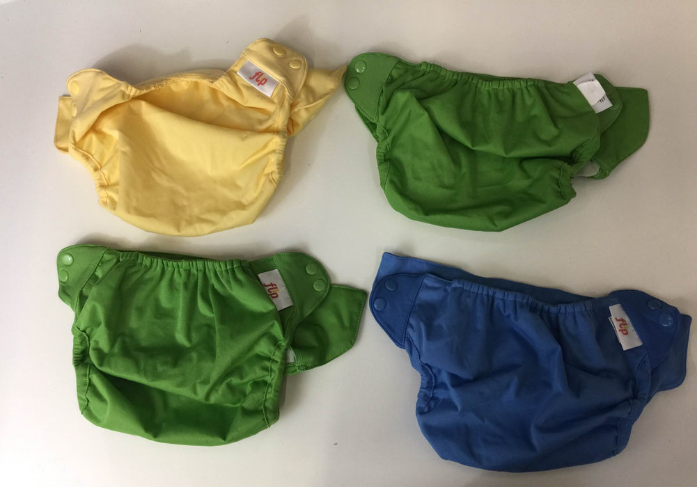 BUNDLE Cloth Diaper Lot and New Pad Set