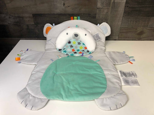 used Bright Starts Tummy Time Prop & Play Mat, Bear