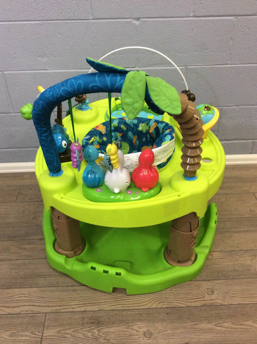 used Evenflo ExerSaucer Triple Fun Active Learning Center