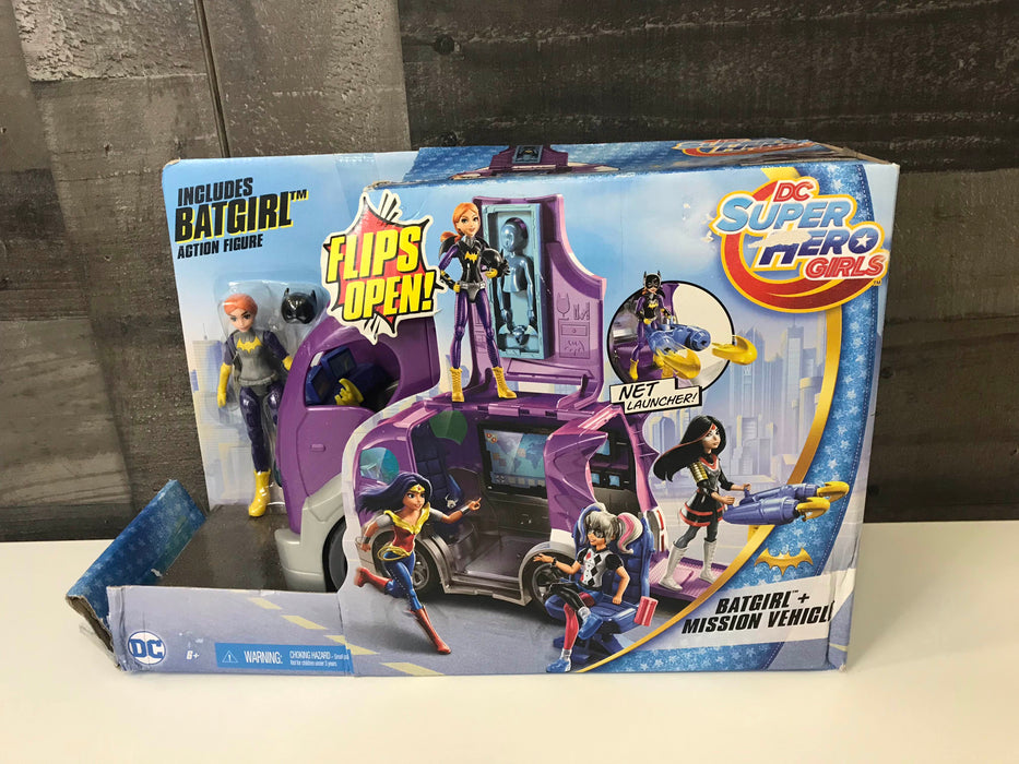 DC Super Hero Girls Batgirl & Mission Vehicle Playset