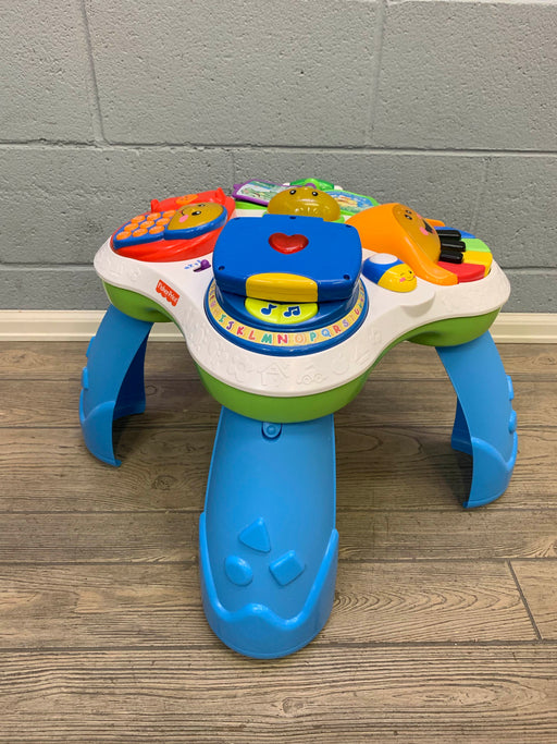 used Fisher Price Laugh & Learn Learning Table, Friends Musical Table