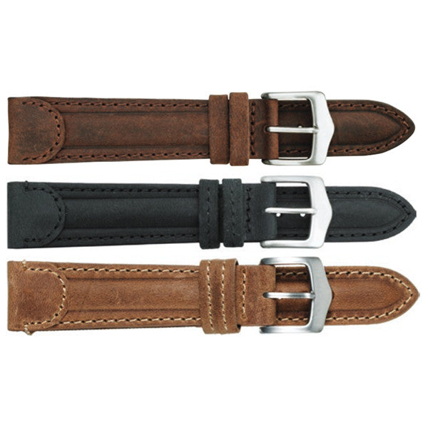 345 Suede Leather Watch Strap