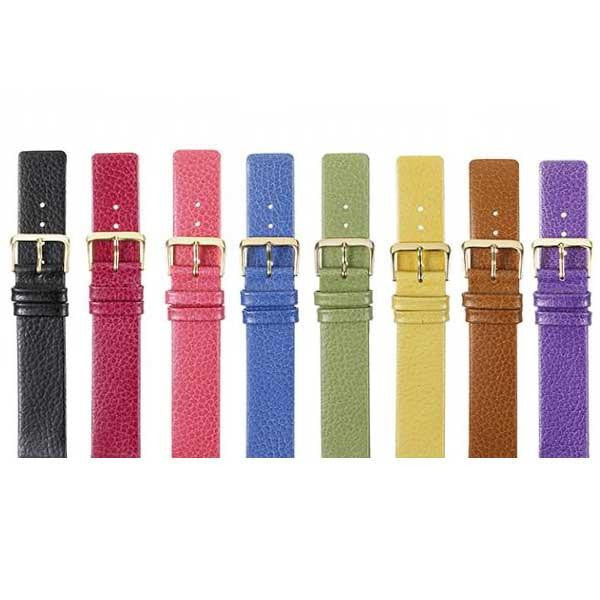 346 Flat Calf Leather Watch Strap