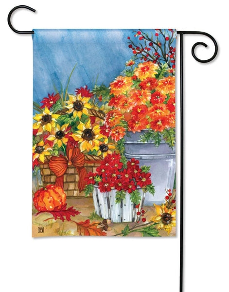 Mum's the Word Garden Flag