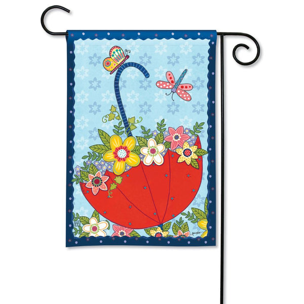 April Showers Garden Flag
