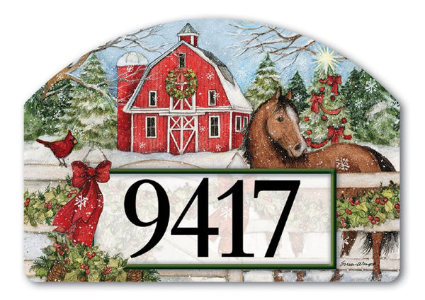 Christmas on the Farm Yard DeSign