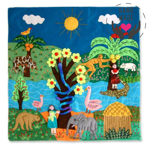 Amazonian Eden Tapestry Tapestries