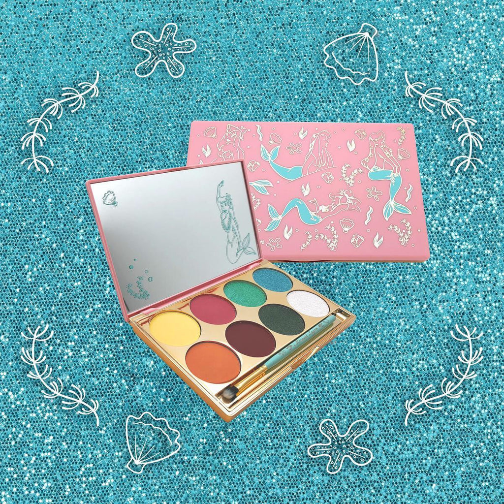 Besame x Disney Peter Pan Mermaid Lagoon Treasures Of The Lagoon Palette