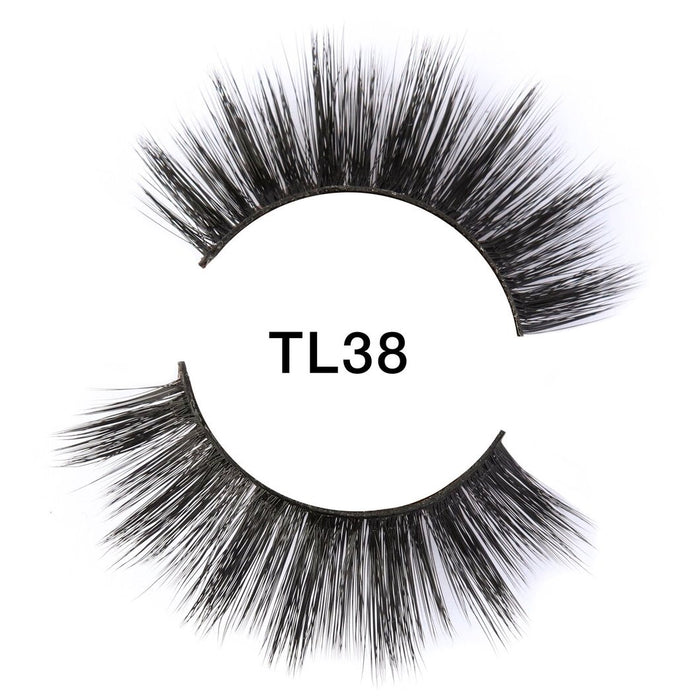 Brazilian Silk 3D Lashes | TL38