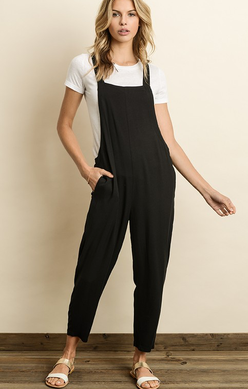 In the Spotlight Jumpsuit - Black