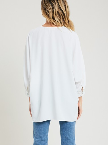 Take The Plunge Top - White