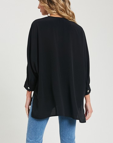 Take The Plunge Top - Black