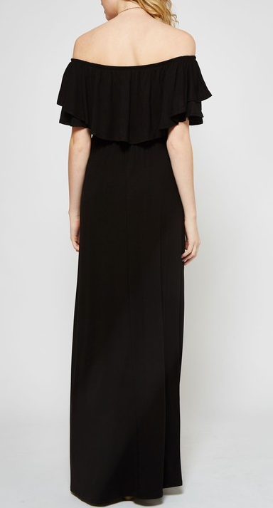 Down Memory Lane Maxi - Black